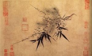 Three_Friends_of_Winter_by_Zhao_Mengjian