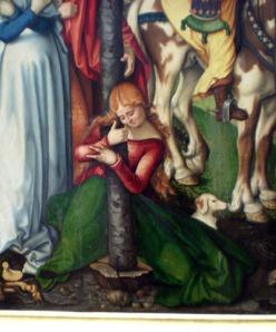 Maria Magdalena y su chucho Gemaldegalerie Berlin-ph
