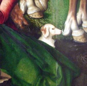 perrito en la crucifixión-ph