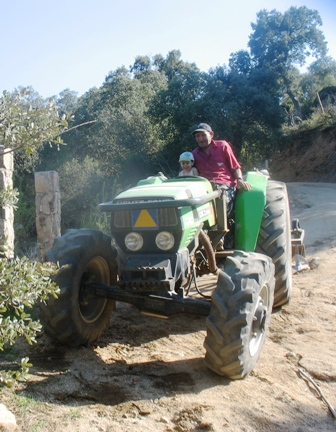 El tractor de Anastasio