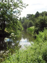 rousham, el río