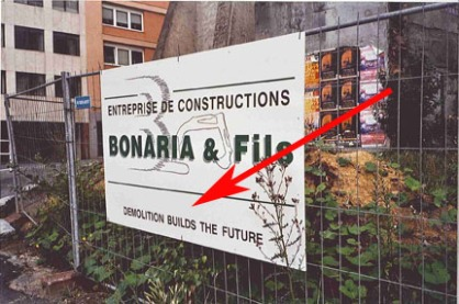 demolition buids the future copia
